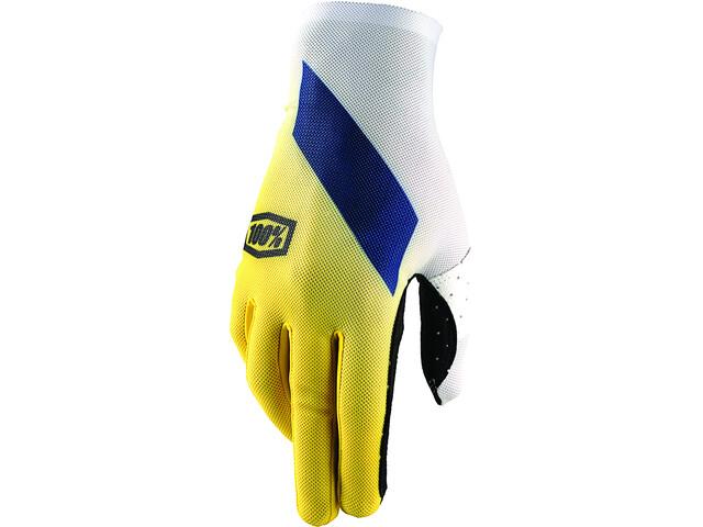 100% Celium Gloves yellow